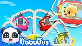 Help! The Ferris Wheel is Broken | Super Panda Rescue Team | Kids Safety Tips | BabyBus Song