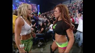 Smackdown 03.17.2005 Michelle McCool & Dawn Marie Catfight