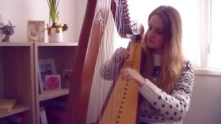 Coldplay - Everglow (Harp Cover)