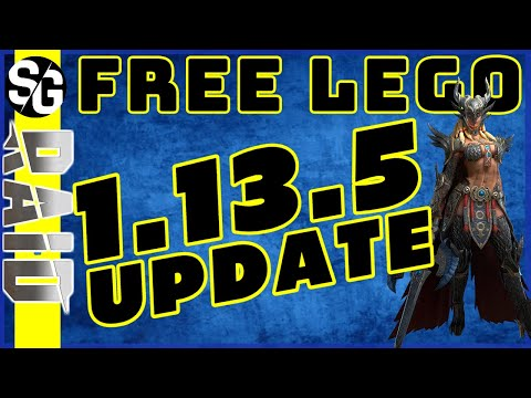 RAID SHADOW LEGENDS | UPDATE INFO!! 1.13.5 FREE LEGO | NEW CHAMPS