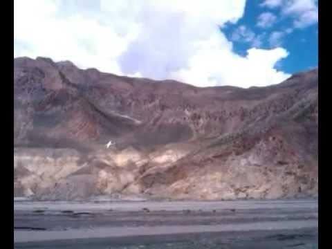 Landing at the Jomsom. Mustang. Nepal 2011