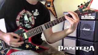 Pantera - Domination/Hollow Live Guitar Cover