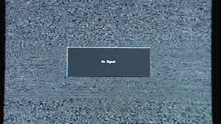 CMGUS VCR CLASSIC: NO SIGNAL CABLE TV FUZZY SNOW PICTURE 30 APRIL 2017