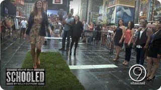 Heels & Grass w/ Kelly Cutrone   You've Been Schooled: Walking In Heels Ep. 3