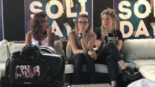 Solidays 2017 : Interview L.E.J
