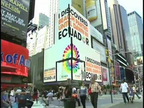 Promocion turistica de Ecuador en EE.UU.