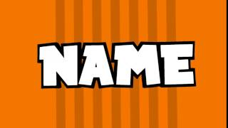 CROMAVE | ORANGE 2D INTRO TEMPLATE[PZ]