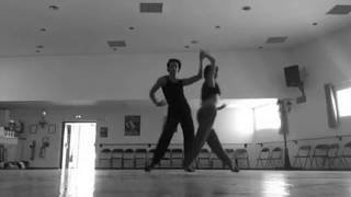 Anthony Colette & Anais Riera - RUMBA show training