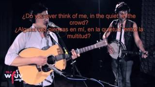Mumford and Sons   Where Are You Now Sub español   ingles