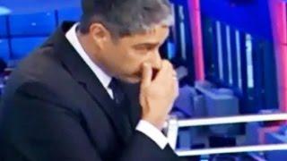 Pastor Everaldo solta um PUM ao vivo e Willian Bonner tampa o nariz