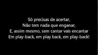 Carlos Paio Em Playback Letra