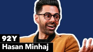 Hasan Minhaj talks Patriot Act with The New Yorker's Vinson Cunningham