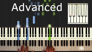 Erik Satie - Gymnopédie No. 1 - Piano Tutorial Easy - How To Play (Synthesia)