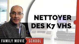 Tutoriel Comment sont Nettoyées les Cassettes-K7 Vidéo VHS | Family Movie Paris