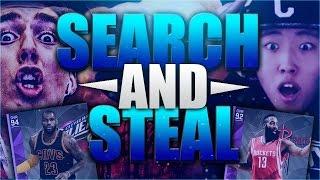 NBA 2K16 CRAZY SEARCH AND STEAL VS EPIKKAI