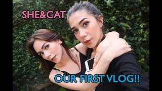 "SHE&CAT first vlog!! ""about us"" 
