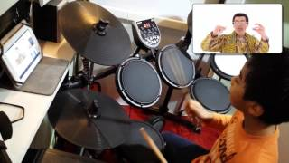 PPAP Pen Pineapple Apple Pen ( Pikotaro ) Drum Cover by Mark Justine Pacion