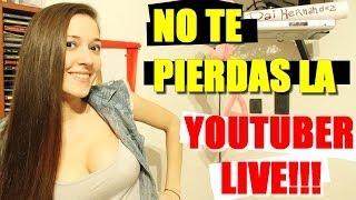 INVITACIÓN A LA YOUTUBER LIVE! - Daiana Hernandez