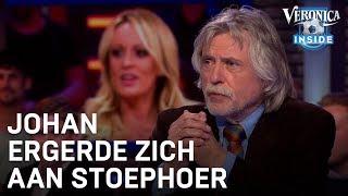 Johan ergerde zich aan 'stoephoer' bij Twan Huys | VERONICA INSIDE