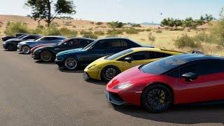 Forza Horizon 3 | F2K17 2/2 Of Day 2 | 200MPH Street Racing w/ 1000HP Supras, Lambos, R8s & More