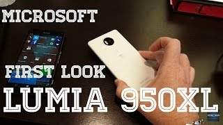 Microsoft Lumia 950XL Hands on First Look