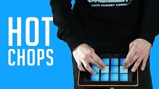 HOT CHOPS - HIP HOP DRUM PADS 24