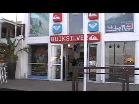 South Africa.Jeffreys Bay/Quiksilver surf shop