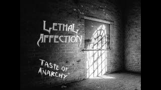 "LETHAL AFFECTION - ""Taste of Anarchy"" (Lyric Video)"