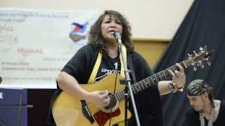 Lolita Carbon of legendary ASIN joined LUMAD band for a charity concert in Japan