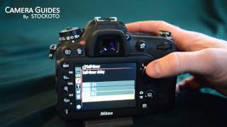 How to set a self-timer on the Nikon D7100