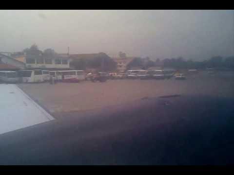 Landing at Kathmandu Thribhuvan International Airport