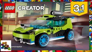LEGO instructions - Creator - 31074 - Rocket Rally Car (Book 1)