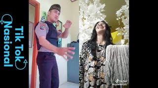 Tik Tok Pak Polisi VS Mak Lampir #kocak