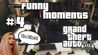 GTA 5 Funny Moments #4 - Tira a mão do Bilhete!