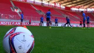 Η προπόνηση πριν τον ΑΠΟΕΛ / Training ahead of match against APOEL