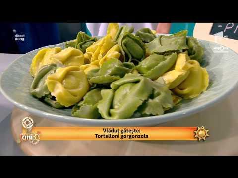 Tortelloni Gorgonzola - simplă, ieftină şi delicioasă