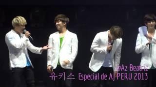 U-KISS (유키스) Especial de AJ PERU 2013