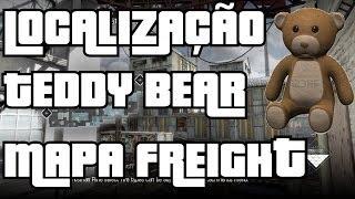 COD GHOSTS - Localização Teddy Bear Mapa Freight / Frete ( Mercena PT - BR )