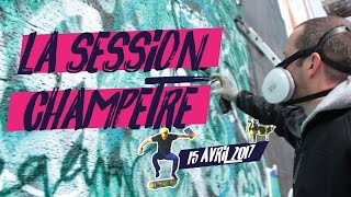 La Session Champêtre #1 • Du street-art et du skate à Grand-Champ...