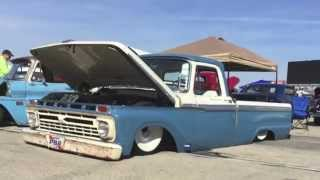 SLAMMED 1966 FORD F100 SWB | Bagged IFS and a 408 Stroked Windsor