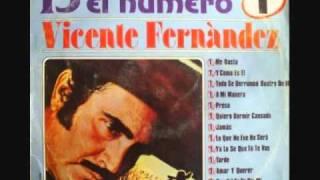 Vicente Fernández - Al final (1985)