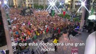 Black Eyed Peas - I Got A Felling (Español-Spanish) Live