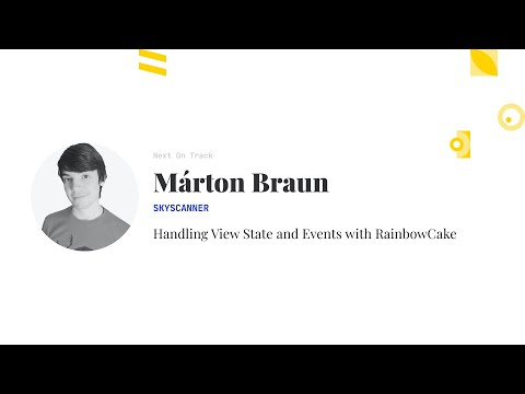 Handling View State and Events with RainbowCake