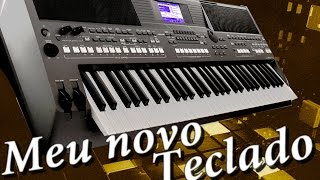 Meu novo teclado (YAMAHA - PSR S670)