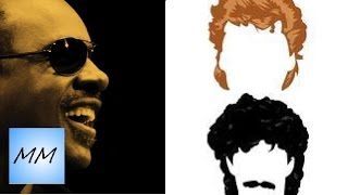 Stevie Wonder & Hall and Oates MASHUP - Part Time Lover/ Maneater