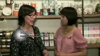 Nikkei TV Interviews Kate Nagel from Bird On A Wire Creations