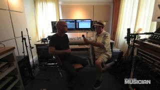 In the Studio With Moby