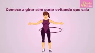 Como afinar a cintura com um bambolê - APERDERPESO.COM