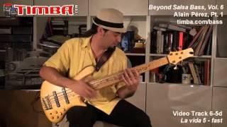 Beyond Salsa Bass (Vol.6) - Alain Pérez - Timba Bass Method - Bajo Cubano