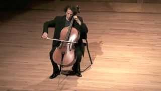JS Bach- Cello Suite No. 1,  III. Courante  - Colin Carr